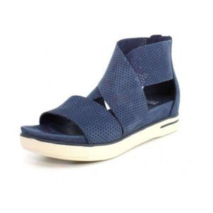 Eileen Fisher Sport Platform Perforated Sandal